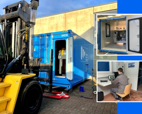 Prototying progress of the first Mobile Smart Factory